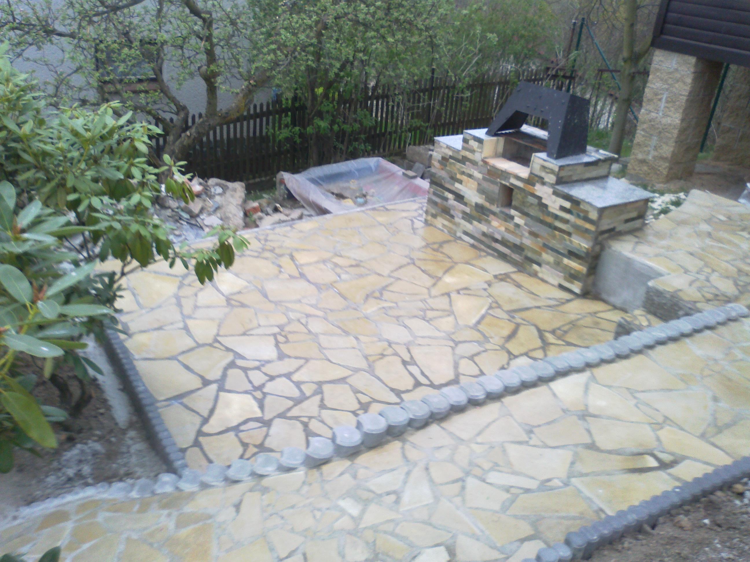 Kamenná terasa - rekonstrukce