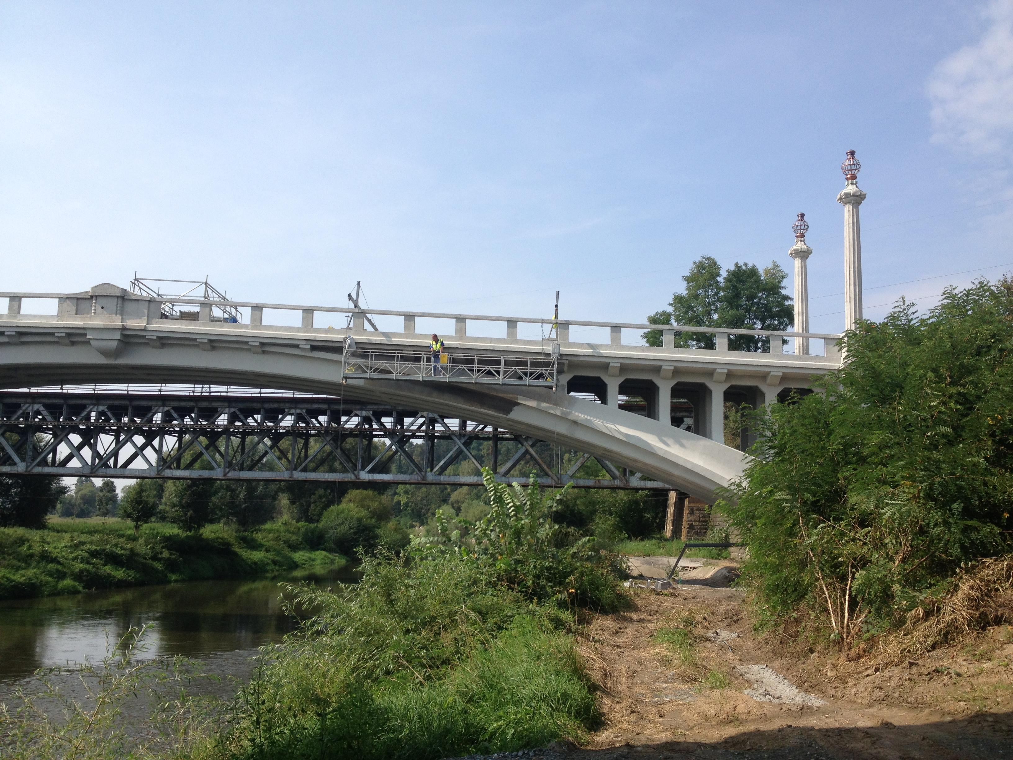 Sanace betonů a ochranný nátěr