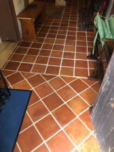 Betonáž podlah a pokládka staročeské dlažby